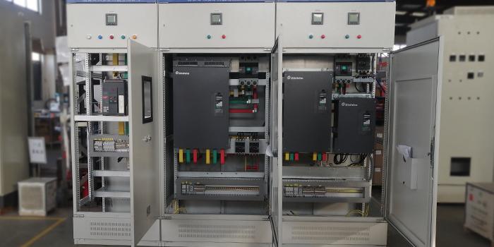环保除尘设备风机启动柜 风机变频器柜 的结构组成